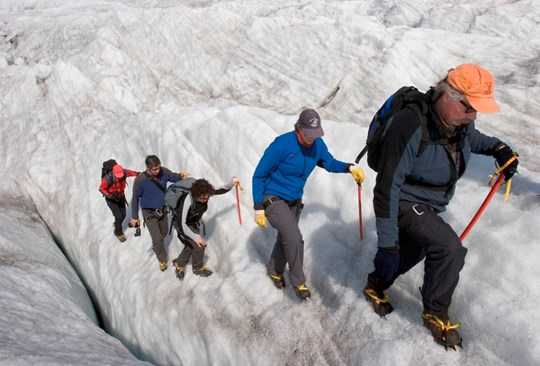 IT glacier walk