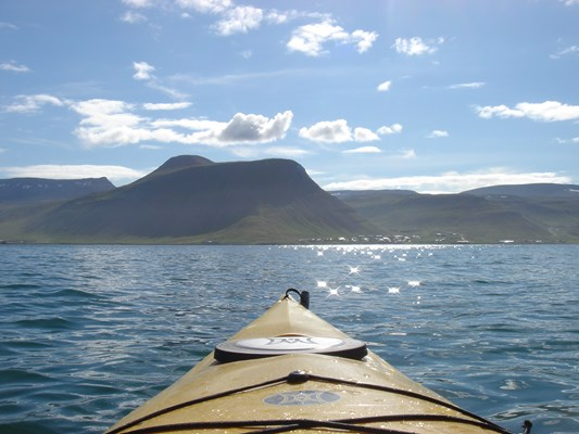 Kayaking in the Westfjords - 1